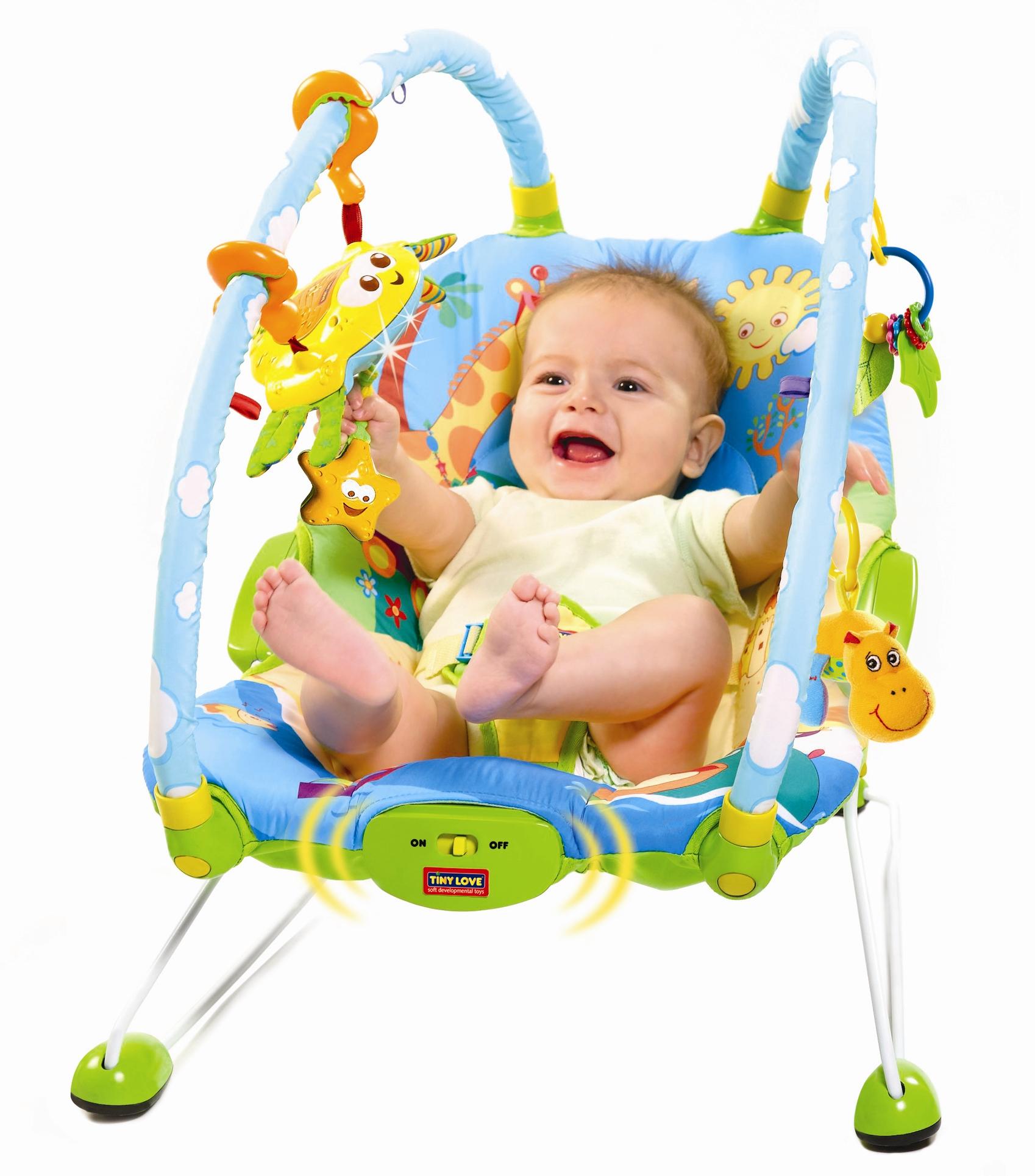 Tiny Love Gymini Bouncer w baby (2)