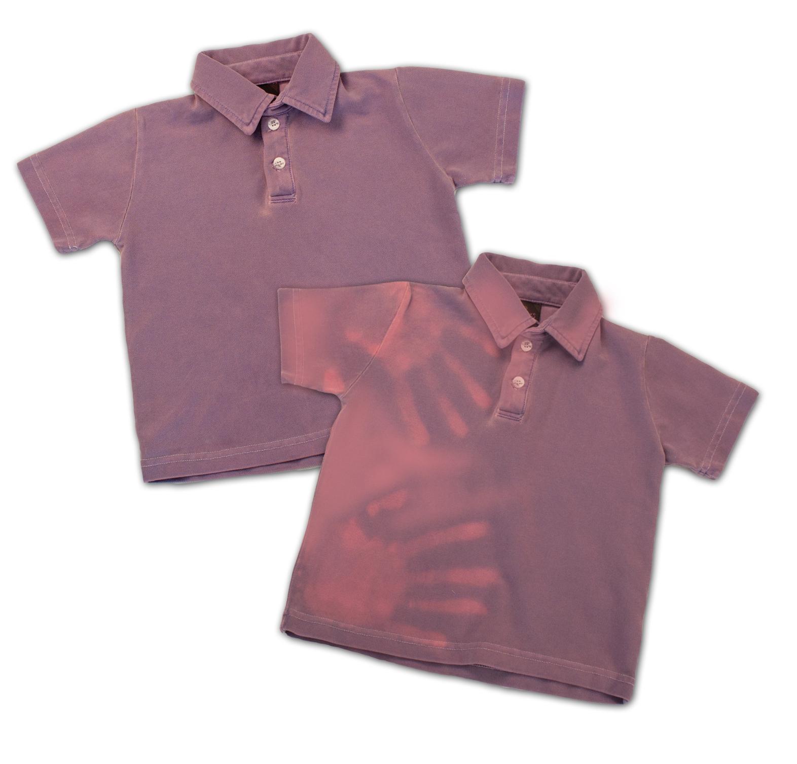 Purple Kids CF Polo