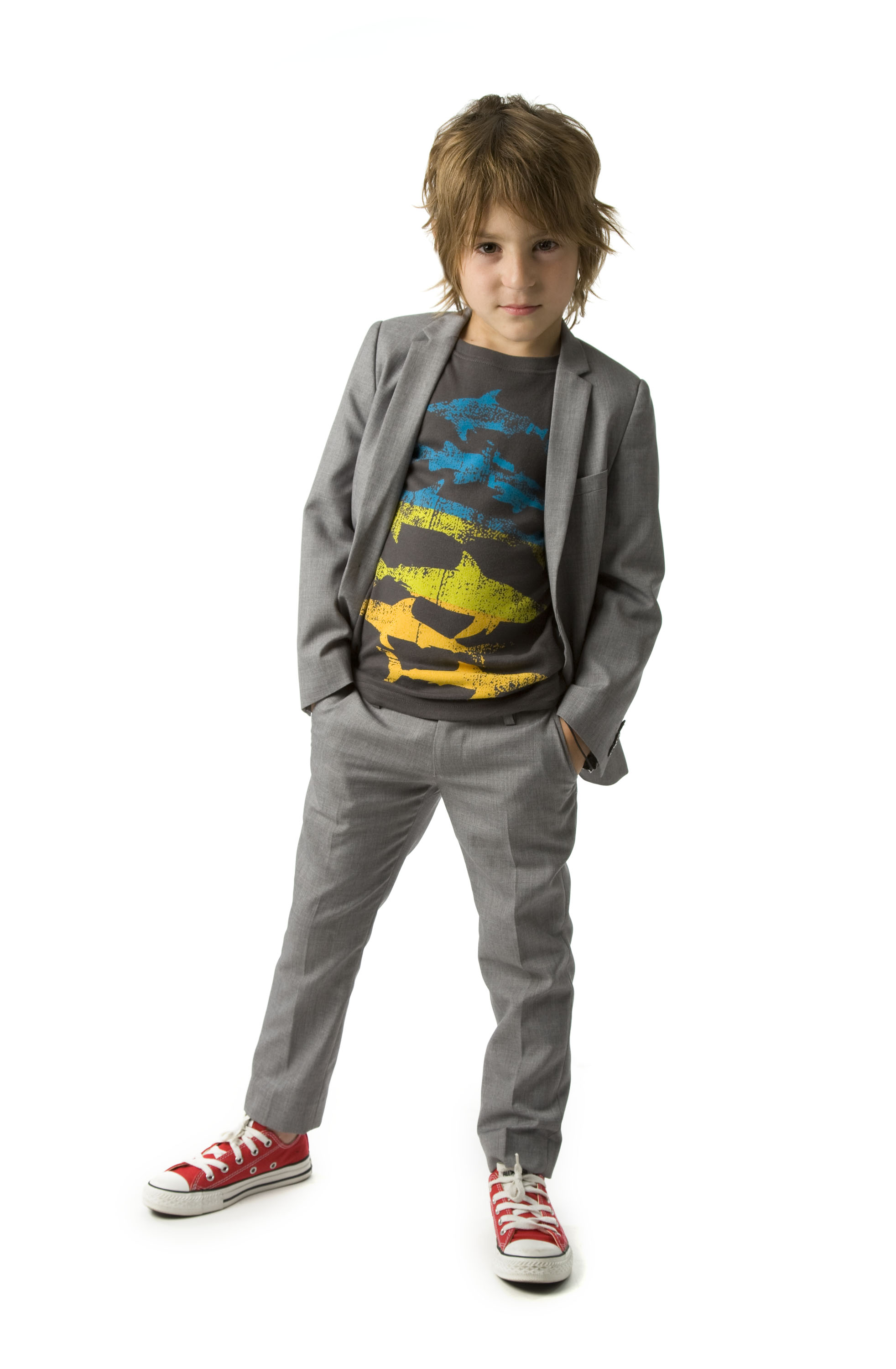 Line of dress wear for young boys may just have him changing his mind