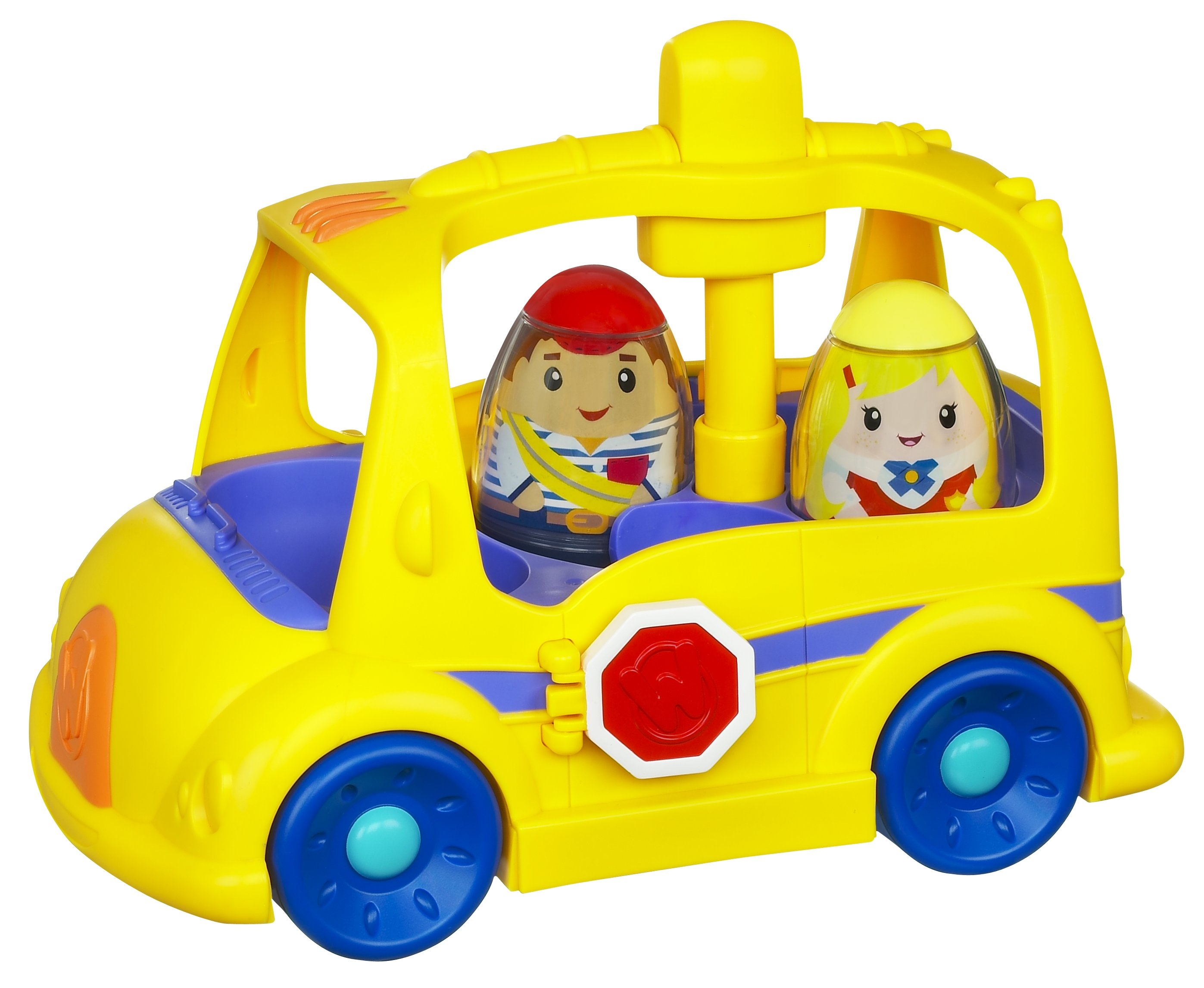 Weebles on the Bus Playset (2)