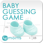 baby guessing game button