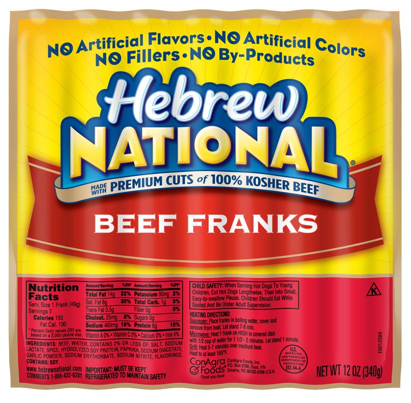 HN Beef Franks