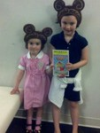 Peyton and Pres at Berenstain Bears July 2011