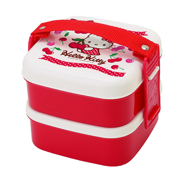 Hello Kitty Bento To Go 2 Tier Lunch Container (2)