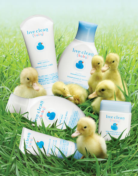 Live Clean Baby - group product shot