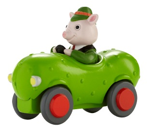 Richard Scarry Busytown Toys Mr Frumble S Pickle Car