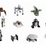 LEGO Star Wars Advent Calendar daily builds