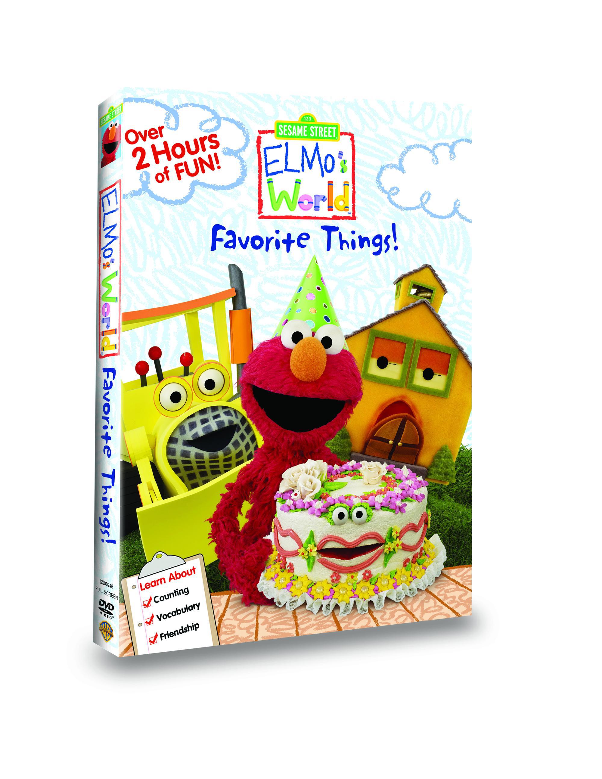 Elmo's Favorite Things 3D Box Art (2)