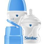 Similac SimplySmart_8oz bottle with cap 4 oz bottle and travel cap