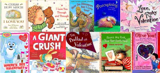 Valentine's Day Book Photo Strip (2)