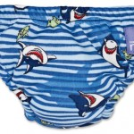 Swim Nappy (blue shark)