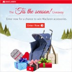 Tis the Season! Maclaren Giveaway (2)