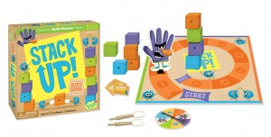 Peaceable Kingdom Stack Up! with game open_LR