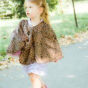 Leopard cape