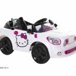 Hello Kitty Coupe - White