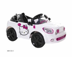 Hello Kitty Coupe - White