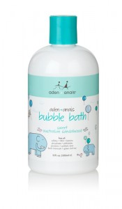 skin care bubble bath product