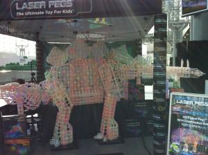 Laser Pegs Toy Fair 2014