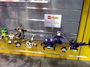 Lego Mixels Toy Fair 2014