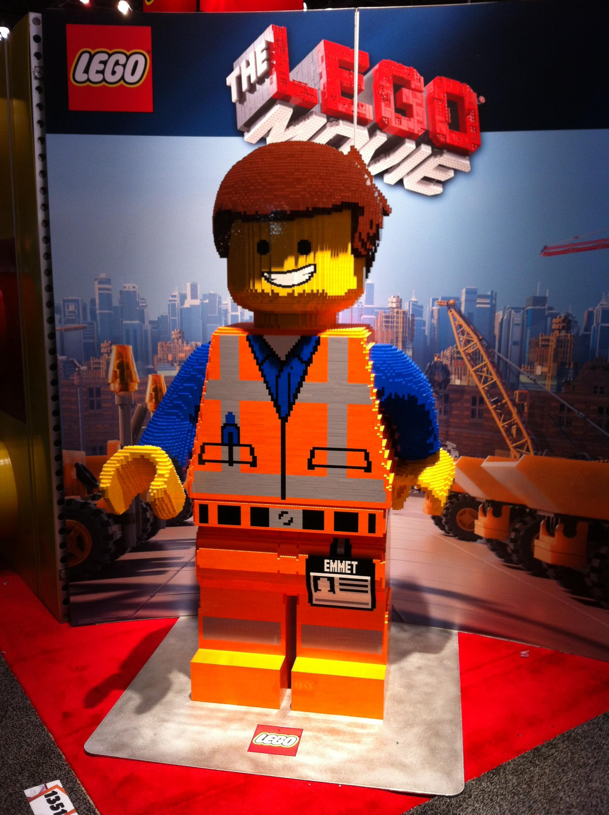 Lego Movie Toys : Toy fair take gund plush lego extravaganza the