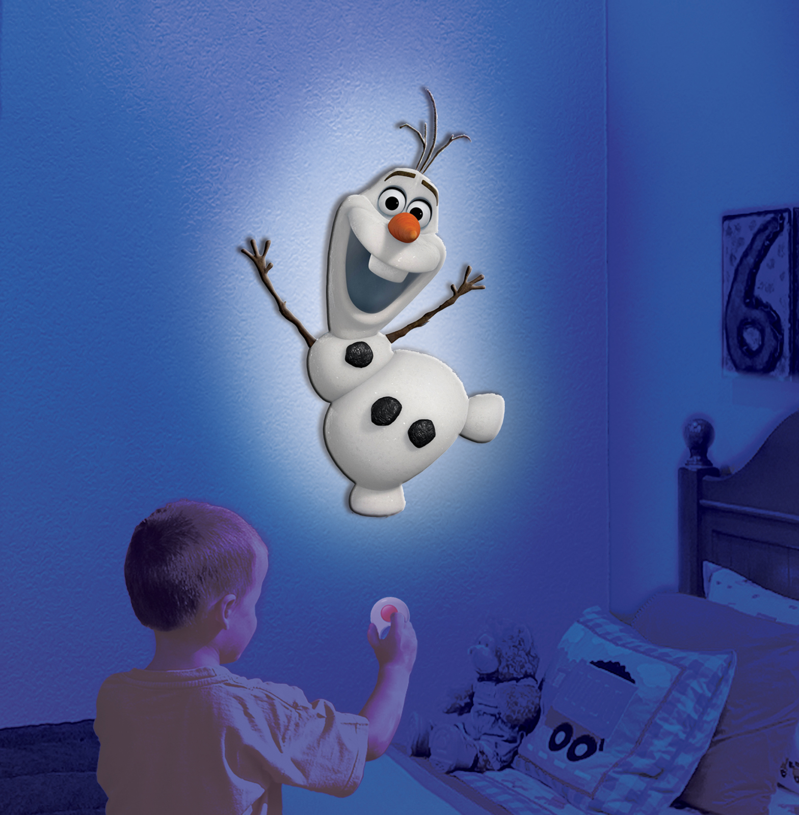 Uncle Milton Wall Friends   Olaf The Snowman ...
