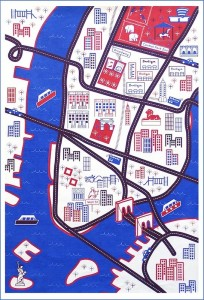 NYC PLaymat