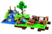 Lego Minecraft Farm set