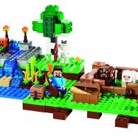 Lego Minecraft Farm set