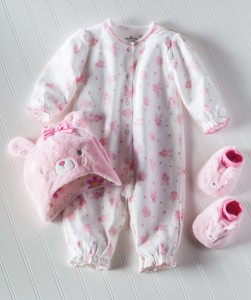 Hallmark Baby pink bunny collection