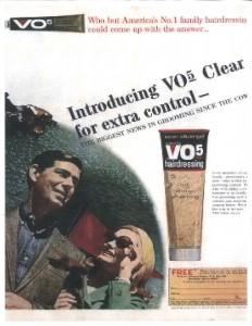 VO5 50's Ad