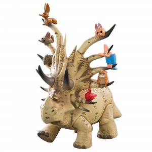 TOMY The Good Dinosaur Large Woodbrush