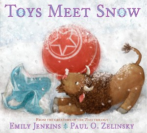 Toys Meet Snow Cover Image