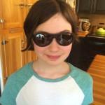 Peyton in sunglasses June 2016